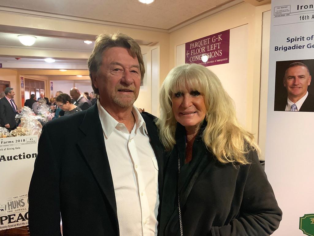 . Rick Reynolds of Middleton and Susan Wornick of Boston