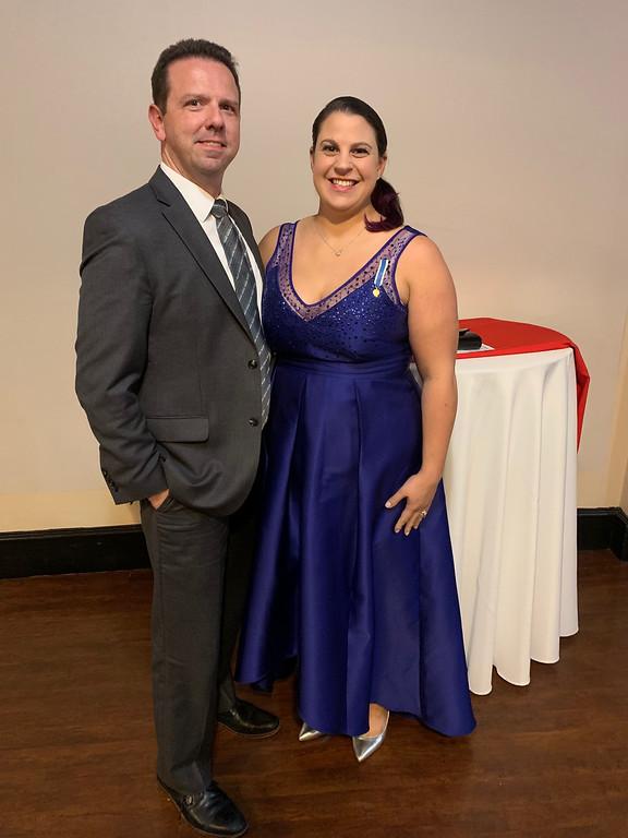 . Robert Hallihan and Lauren Dalis, both of Georgetown