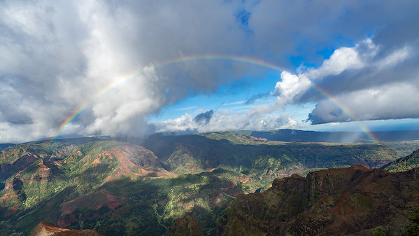 Mohihi Overlook, Waimea Canyon, Kauai, Hawaii