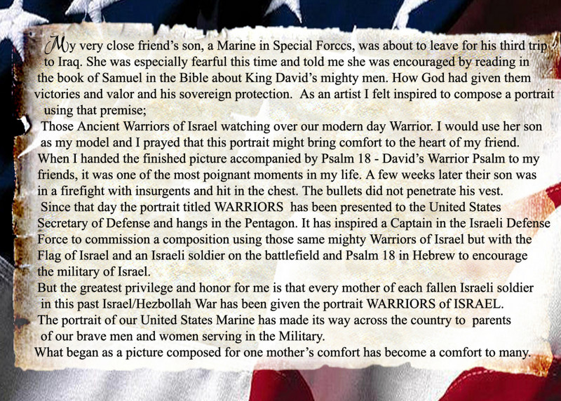 Story of WARRIORS<br /> Please click on image for XL viewing