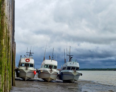 Waiting For High Tide, Naknek, Alaska