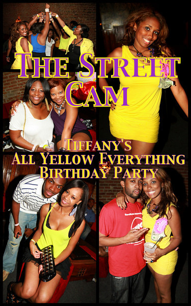 The Street Cam: Tiffany's All Yellow Everything Birthday Party