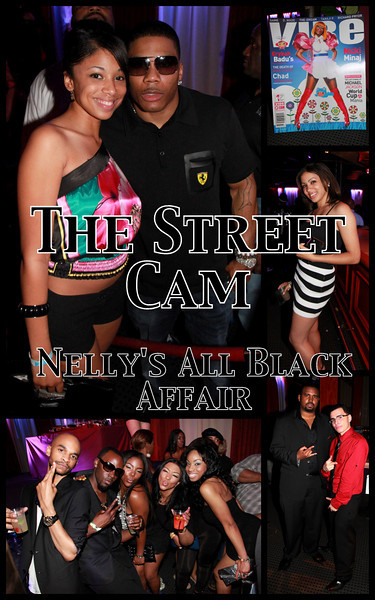 The Street Cam: Nelly's All Black Affair
