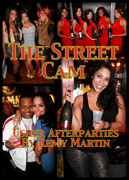 The Street Cam: Usher Afterparties by Remy Martin