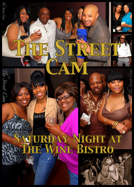 The Street Cam: Saturday Night at the Wine Bistro
