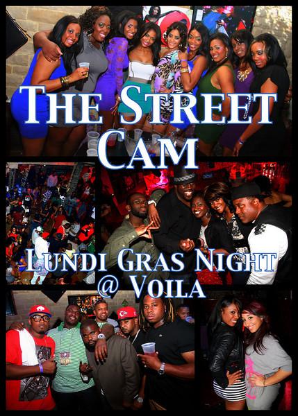 The Street Cam: Lundi Gras Night @ Voila