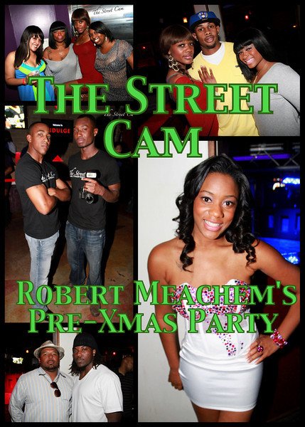 The Street Cam: Robert Meachem's Pre-Christmas Party