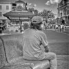 Fells Point Street Photography - Taking It All In