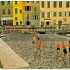 Beach Soccer in Vernazza - Cinque Terre Italy