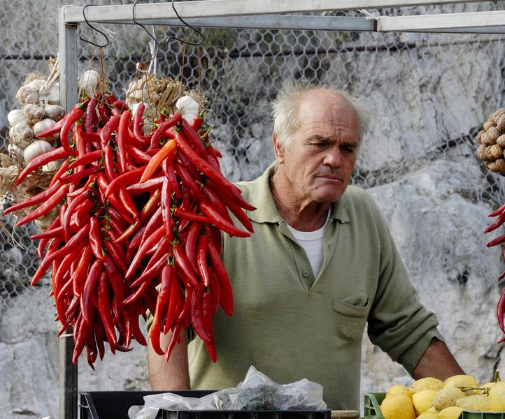 Pepper Merchant - Positano Italy