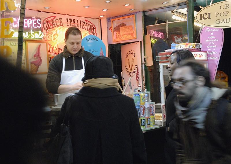 Street Vendor - Paris