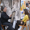 Artist in Piazza Navrone - Rome