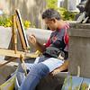 Street Artist 2 - Positano Italy