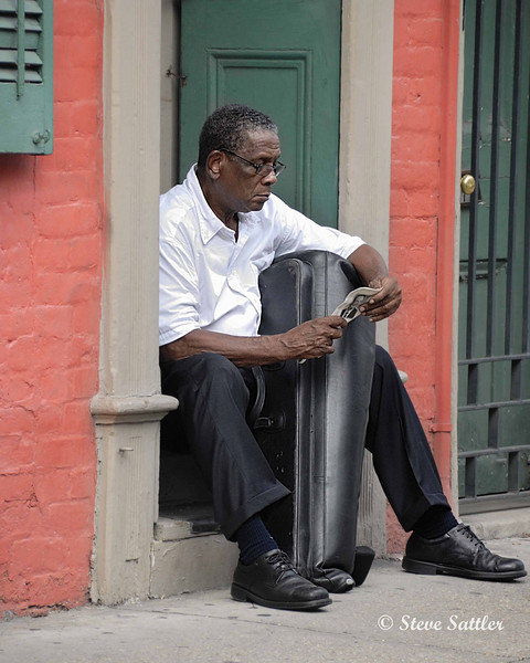 Jazz Musician - New Orleans