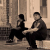 Fells Point Street Photography - On the Stoop