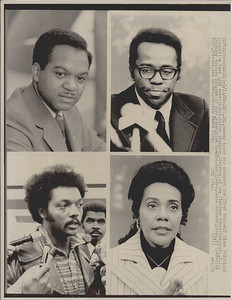 Leaders at first National Black Political Convention
