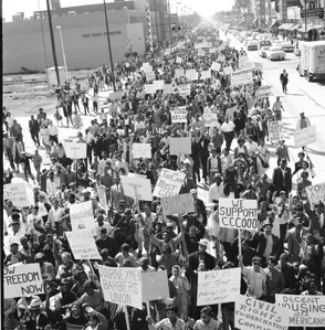 1963 Freedom March about Jim Crow Conditions in Gary Indiana