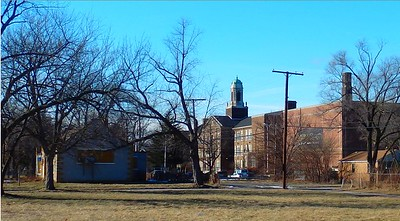 Roosevelt High School & Surrounding Neighborhood