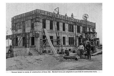 1911 African Americans building Gary,Indiana