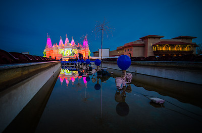 Temple Blue Hour