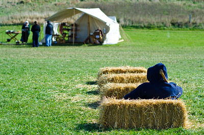 Man in the Hay