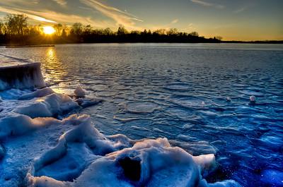 Sunset on Thin Ice