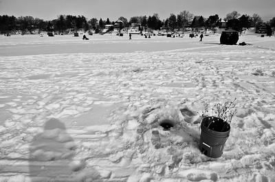 Ice Fishin' Shadow