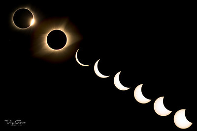 Composite Images of the 2017 Solar Eclipse