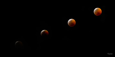 """2019 Super Blood Moon Eclipse"""