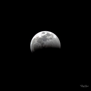 """Partial Lunar Eclipse Continues"""
