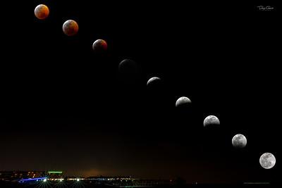 """""""Moon Over Cocoa Beach"""""""