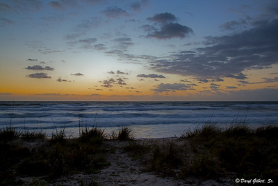 Sunrise from the dunes.......