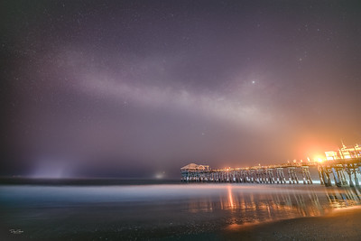 """Cocoa Beach Pier Milky Way"""