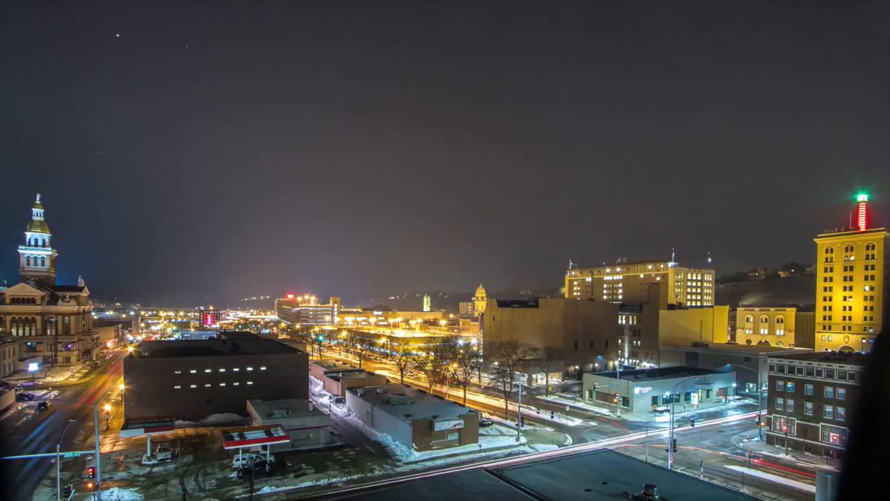 Downtown time lapse