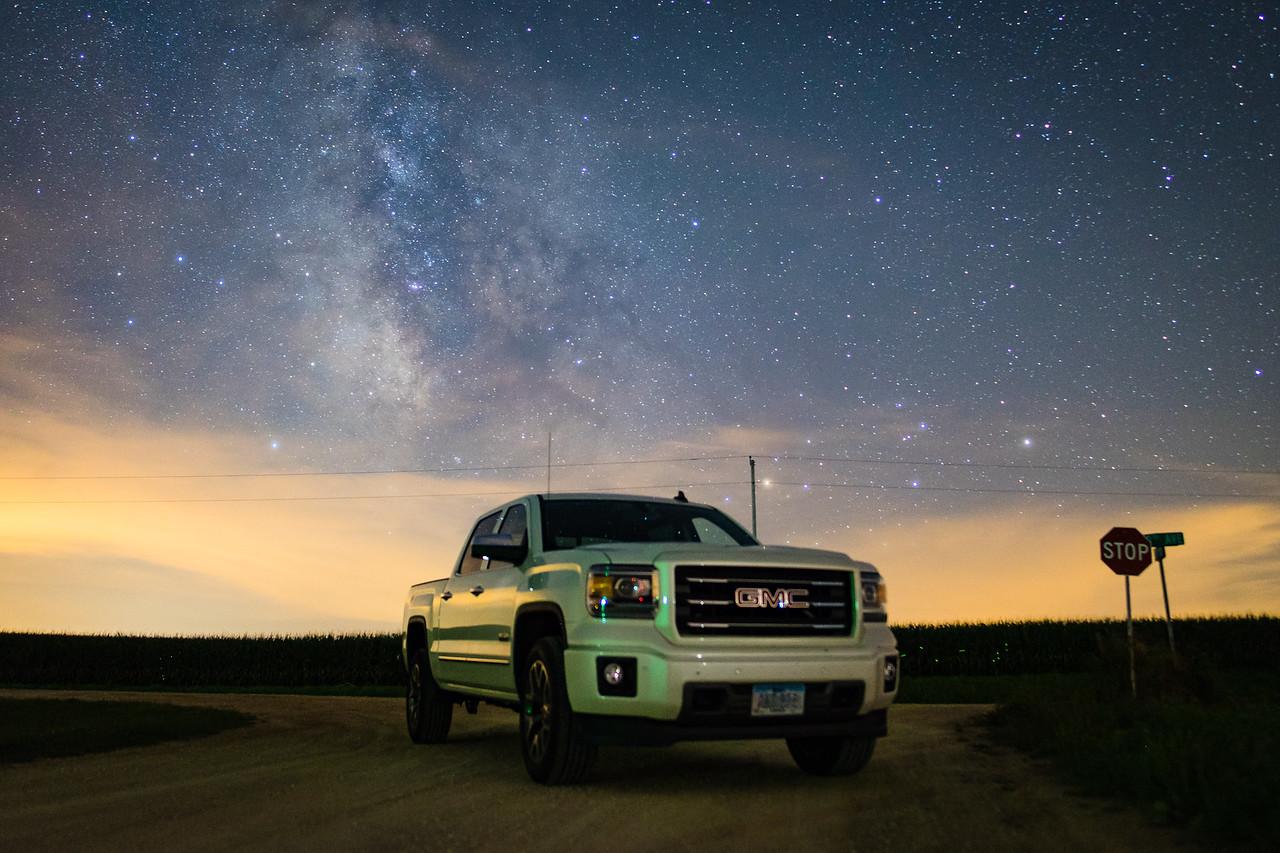 Milky Way over my truck