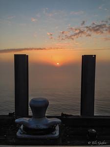Foggy Sunrise on the Mississippi