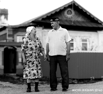 The local Imam and his wife