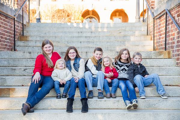 The Thornton Family 2016