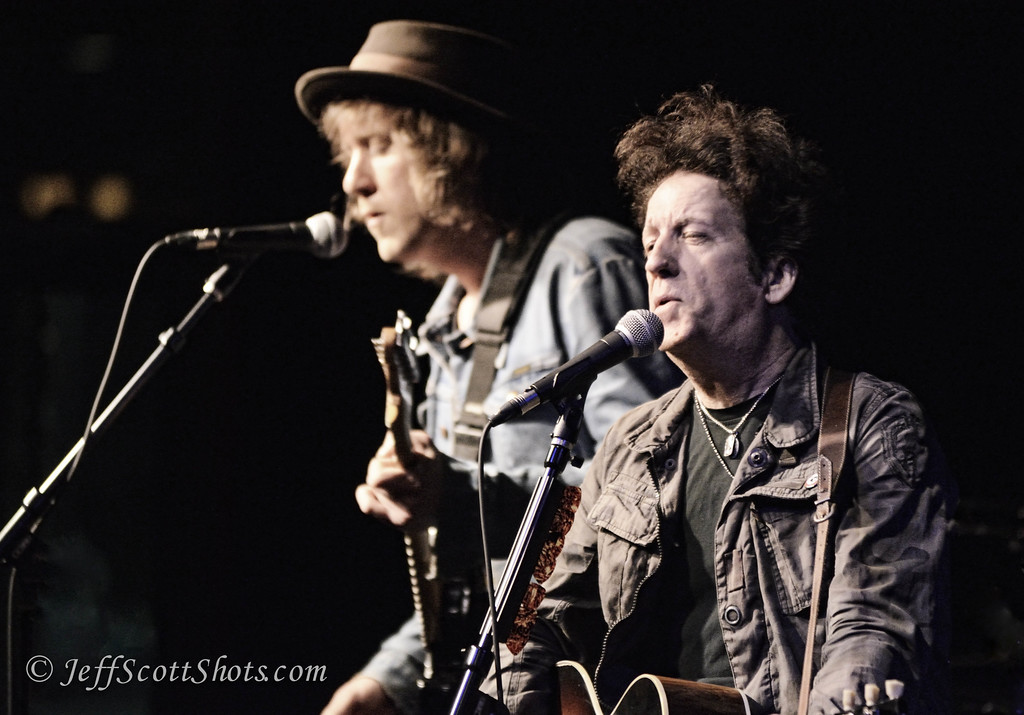 Matt Hogan and Willie Nile