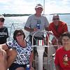 Sailing on Island Pursuit with the Parkahs.