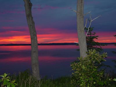 SUNSET - Long Island, Maine