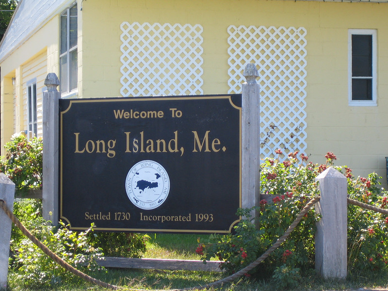 Welcome to the Town of Long Island, Maine