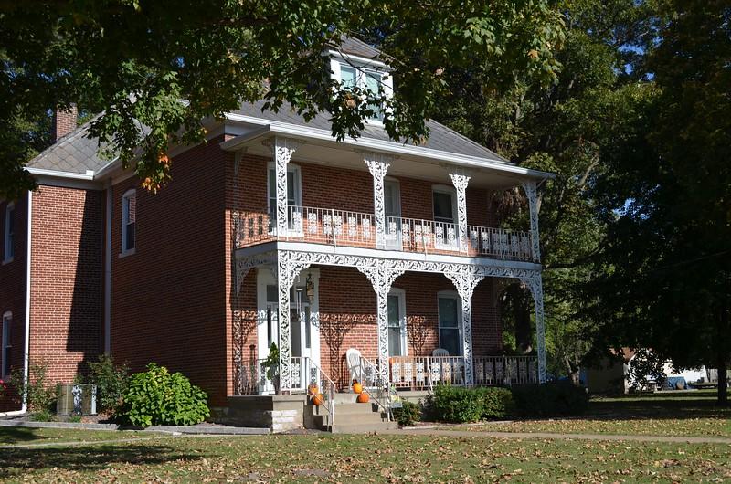 Prairie du Rocher, IL,  an almost 200 year old town.