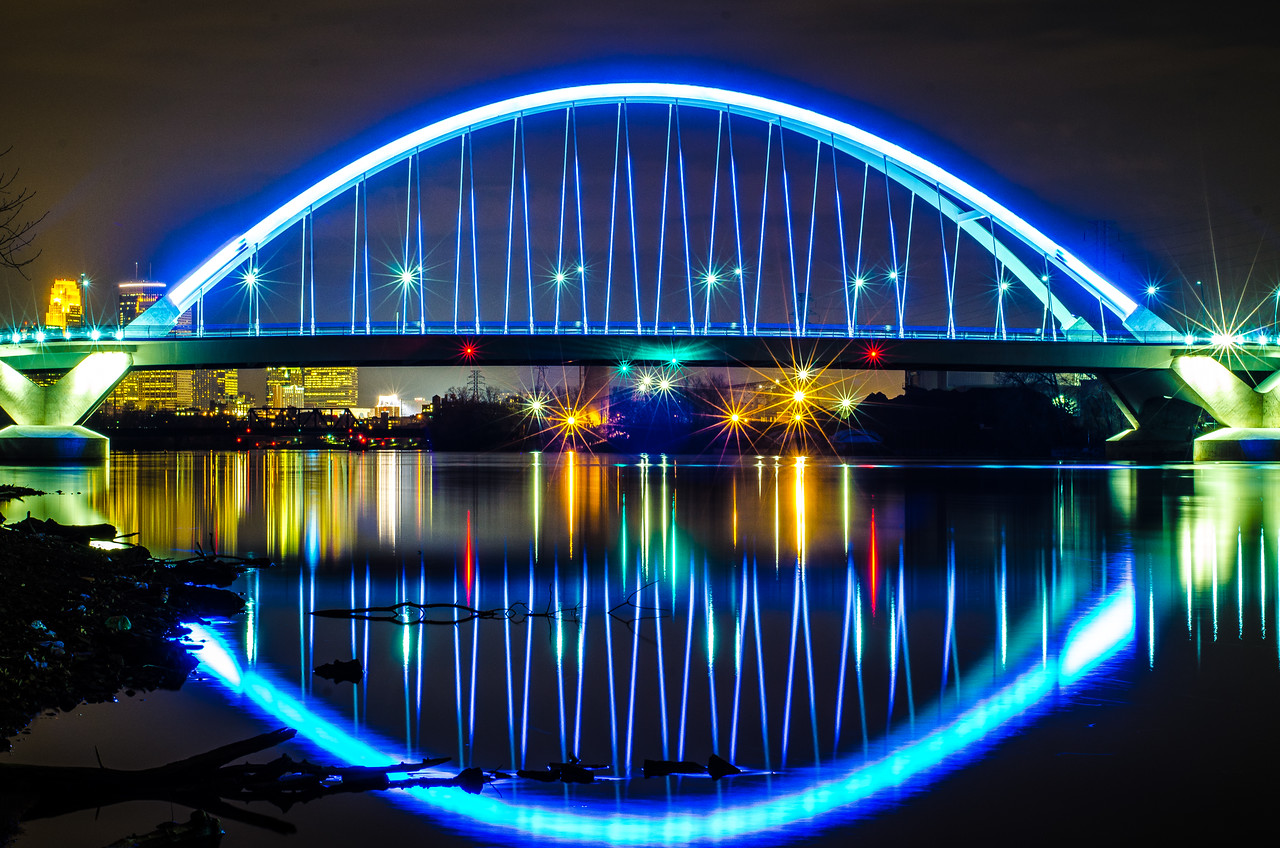 Lowry Ave bridge, NE Minneapolis