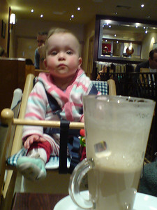 """""""If I could only rock this chair forward a little bit, the coffee will be MINE"""""""