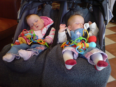 SShh... They're asleep.  But don't worry, they'll wake up when they smell the coffee (this is in Costa !)