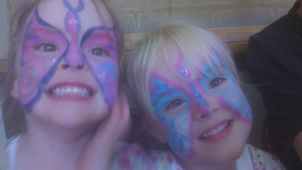 Another party, another face painting...