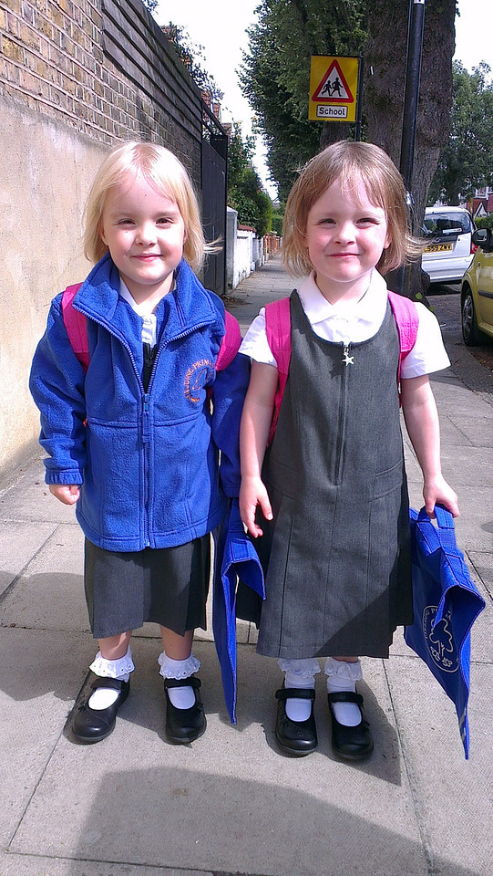 First day (afternoon) of school - September 2012....