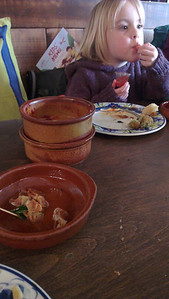 New experience: Tapas. Success level: Nearly empty plates.