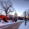 Snow at the Capitol